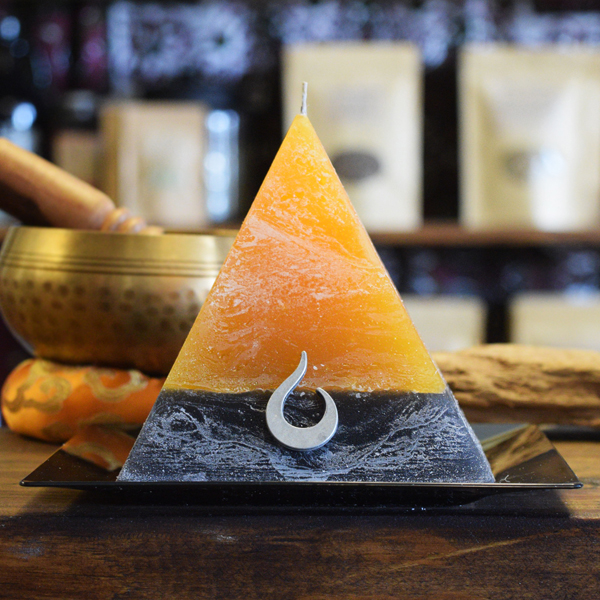 Hallows' Eve Pyramid Candle