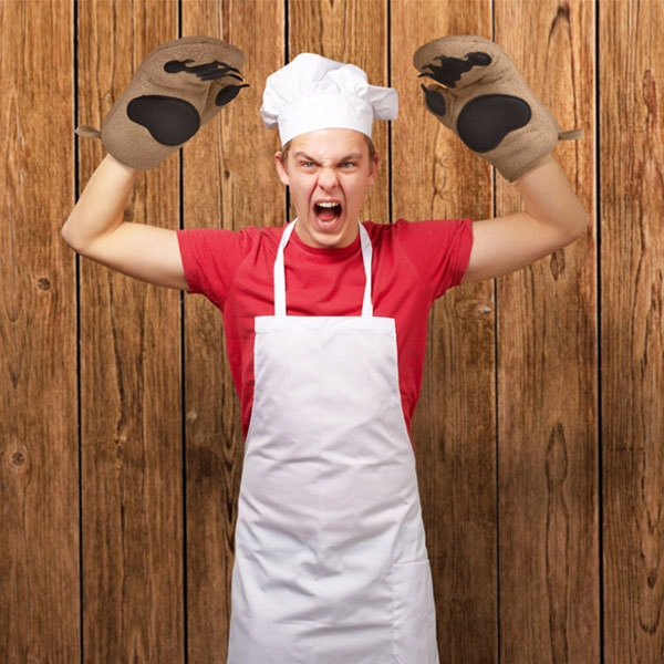 product image for Bear Hands Oven Mitts