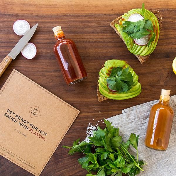 The Homemade Hot Sauce Kit