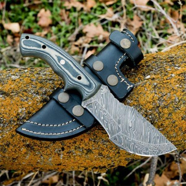Ironside Damascus Steel Knife