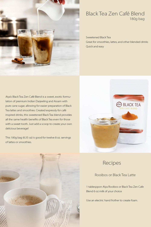 Black Tea Zen Café Blend A Mixture Of Indian Darjeeling And Assam Black Tea