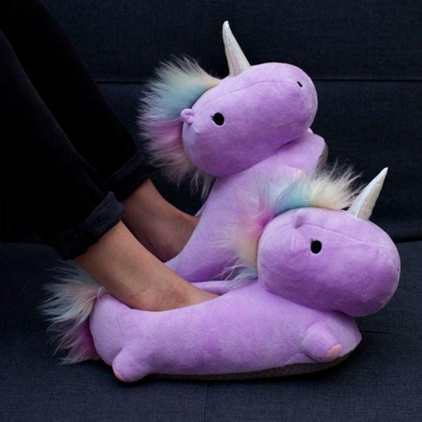 product image for Unicorn USB Heated Slippers