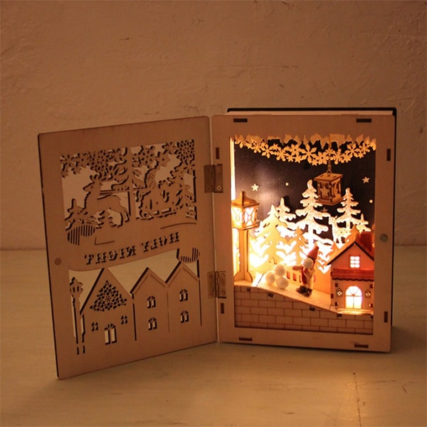 Nordic LED Holy Night Town Book (OUT OF STOCK)