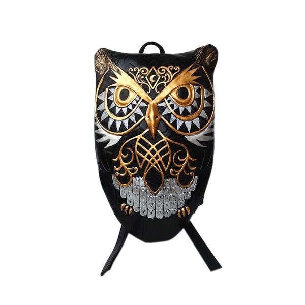 3D Embossed Owl Backpack