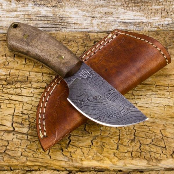 Colter Skinner Damascus Steel Knife