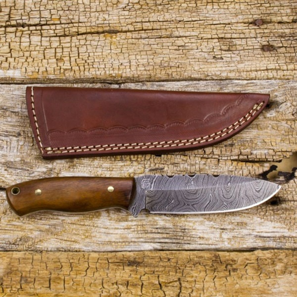Tecumseh Damascus Steel Knife