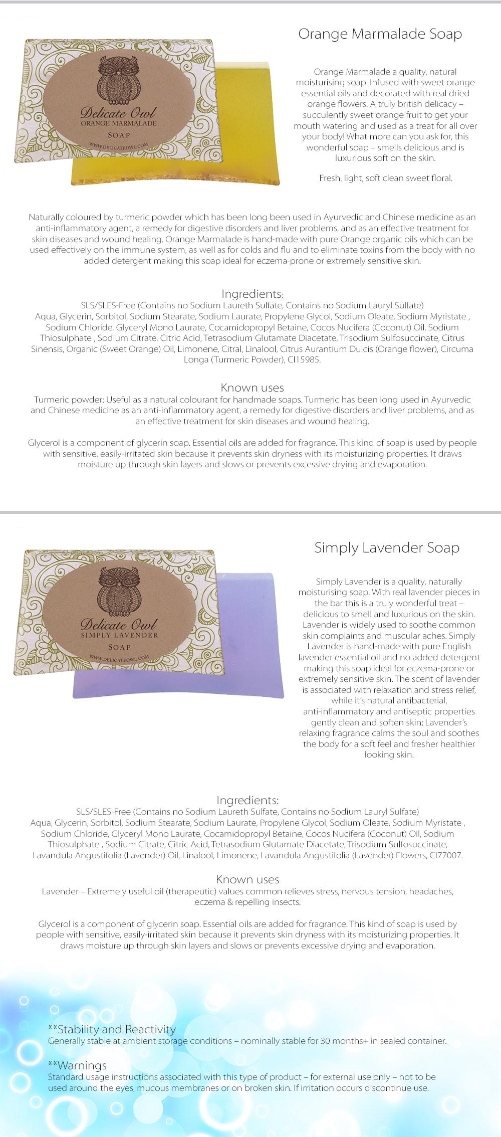 Luxury Handmade Soap Natural Moisturising Soap For You