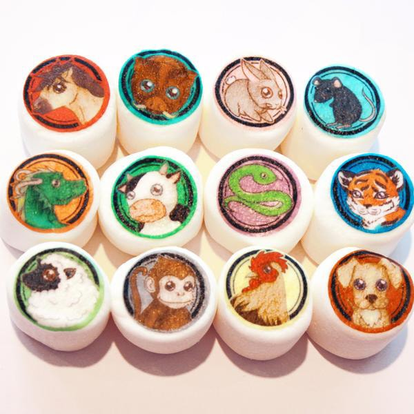 product image for Chinese Zodiac Edible Art Marshmallows