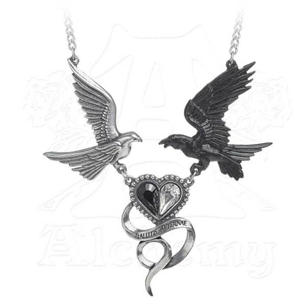 Epiphany of St. Corvus Necklace