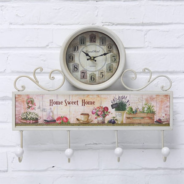 INOpets.com Anything for Pets Parents & Their Pets Garden Style Wall Clock