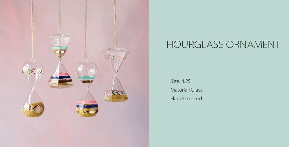 Hourglass Ornament Great For Home Decor