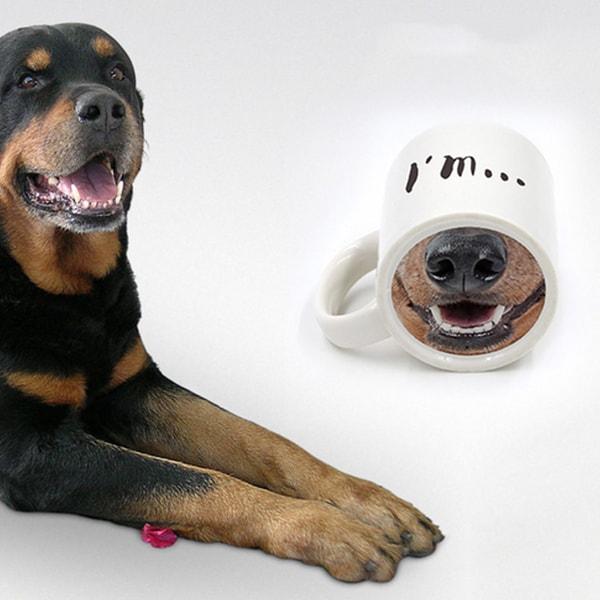 product image for Dog and Piggy Mug