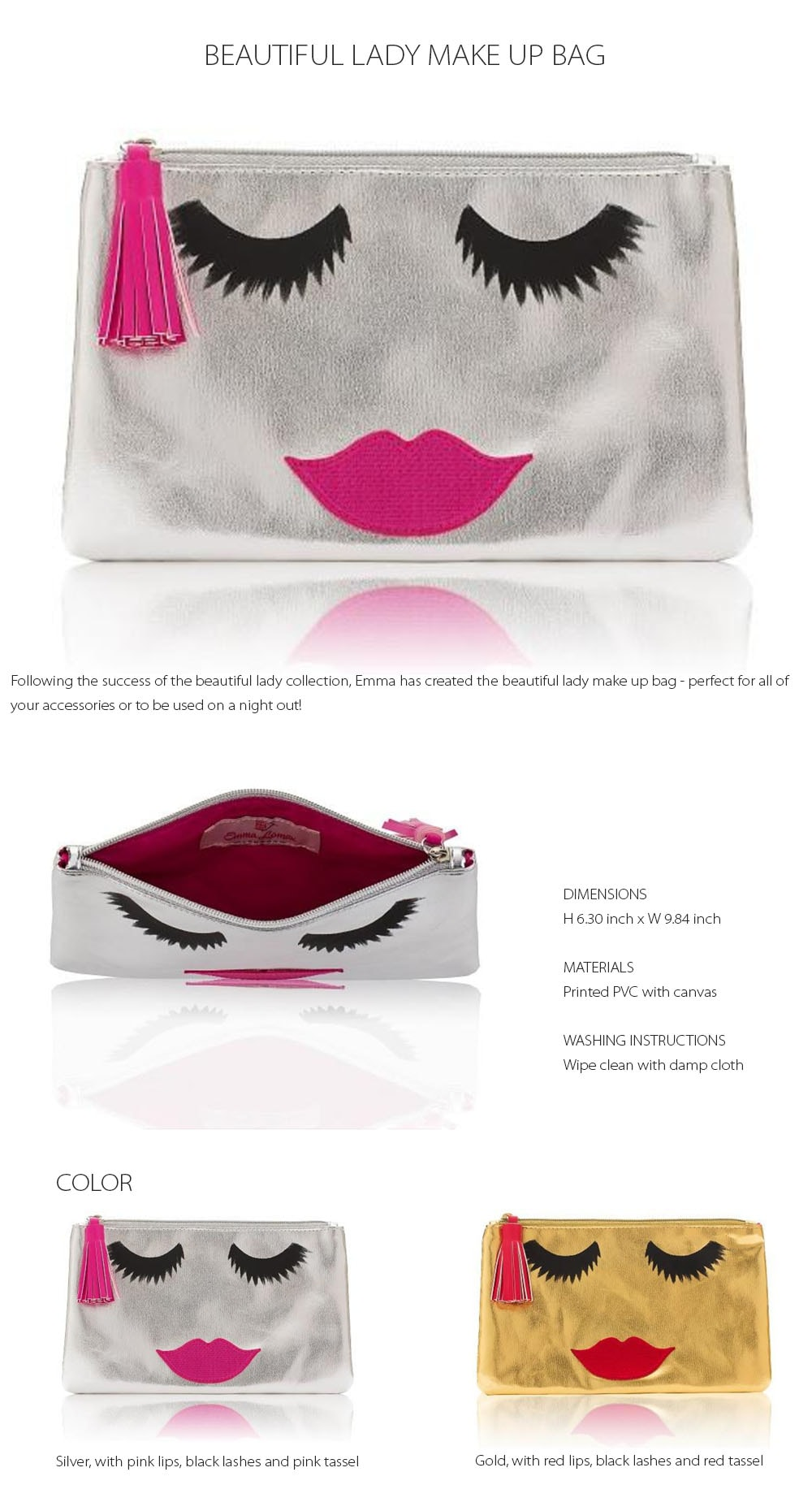 Beautiful Lady Make Up Bag Perfect For All Of Your Accessories
