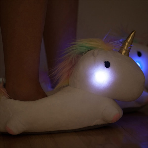 product image for Unicorn LIGHT UP SLIPPERS