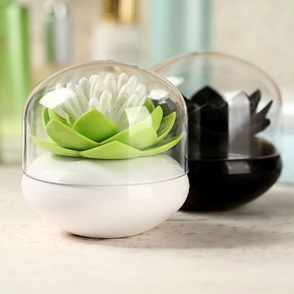 Lotus Shaped Swab Holder With Tray