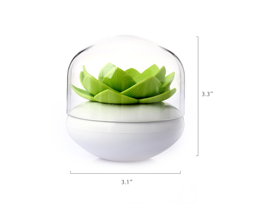 Lotus Shaped Swab Holder With Tray Unique Design For Your Life