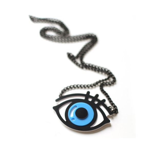 10x1 Blue Eye Sweater Necklace