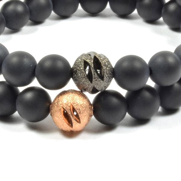 product image for Onyx 2 Piece Bracelet Set
